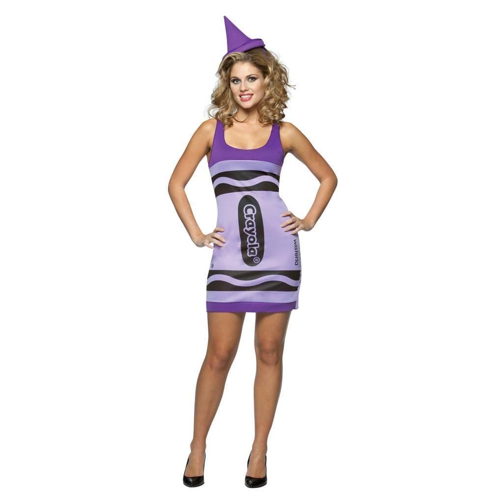 Crayo Crayola Dress Costume