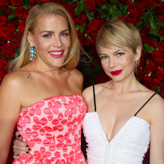 Michelle Williams and Busy Philipps at Tonys 2016