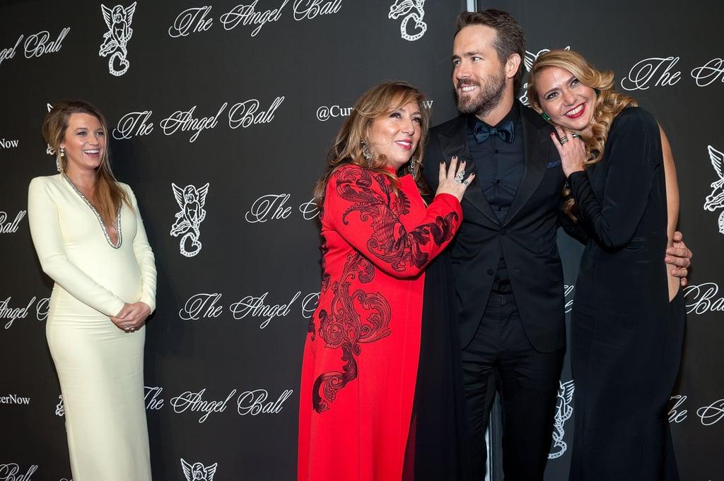 Blake Lively Pregnant at Angel Ball 2014