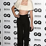 Emma Watson in Balenciaga Crop Top at 2013 GQ Men of the Year Awards