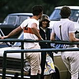 Prince Charles and Camilla Chat at a Polo Match at Windsor Great Park
