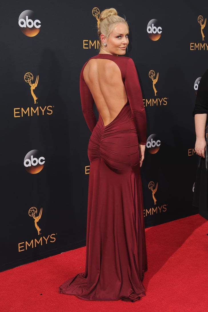 Lindsey Vonn At The 2016 Emmys Popsugar Fitness Photo 4