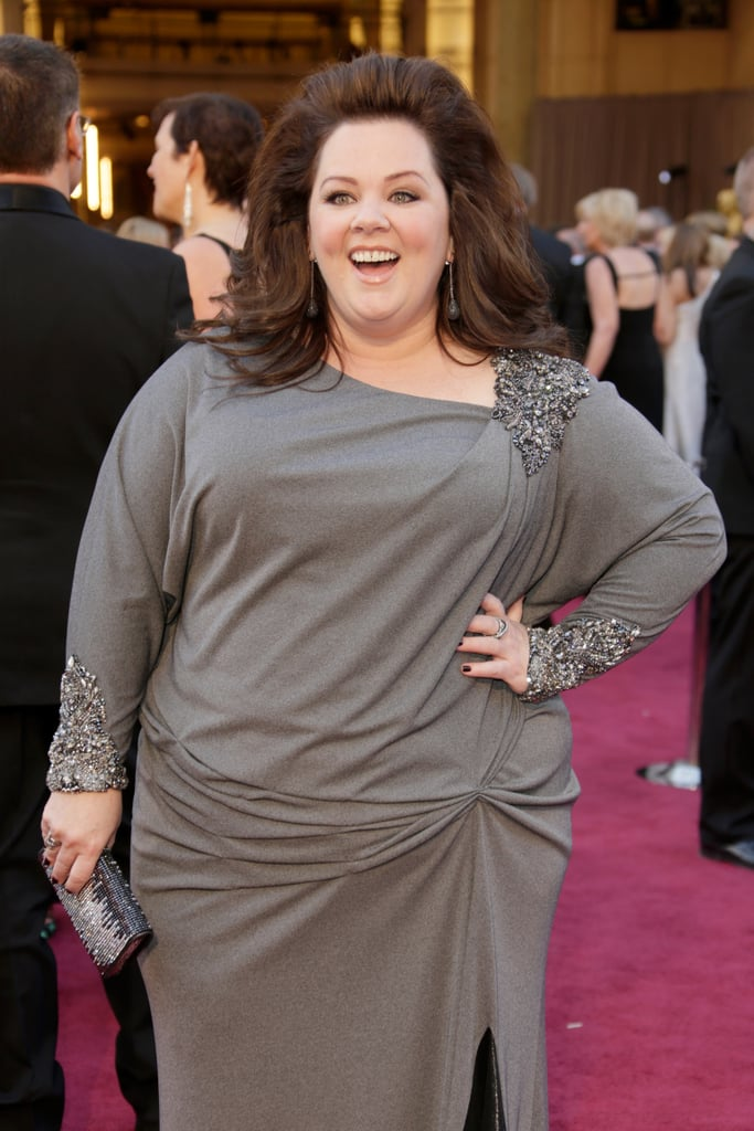 Melissa McCarthy at the 2013 Oscars.