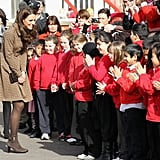 Kate Middleton made an official appearance.