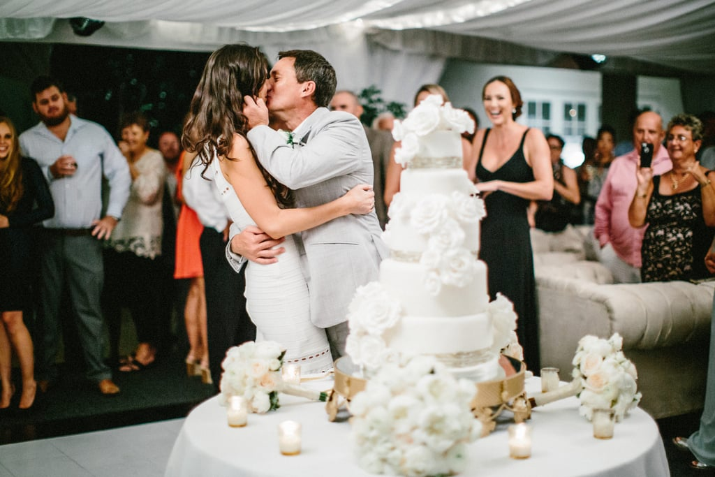 Jessica and Nigel traveled to Barbados and allowed the island's natural beauty to set the scene. Surrounded by tropical plants, the two exchanged vows in the Hunte's Gardens rainforest, immediately followed by a Champagne celebration. See the wedding here!