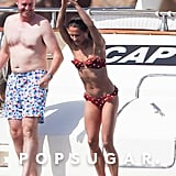 Michael Fassbender and Alicia Vikander in Spain July 2017