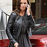Pippa Middleton on her cell phone.