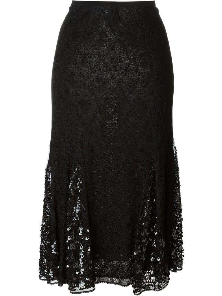 Christian Dior Vintage Skirt ($552)
