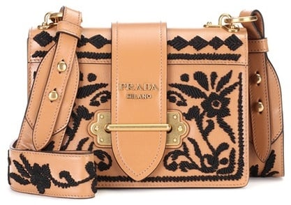 74cfdae6e4db Prada Cahier Leather Shoulder Bag | Prada Cahier Bag Trend ...