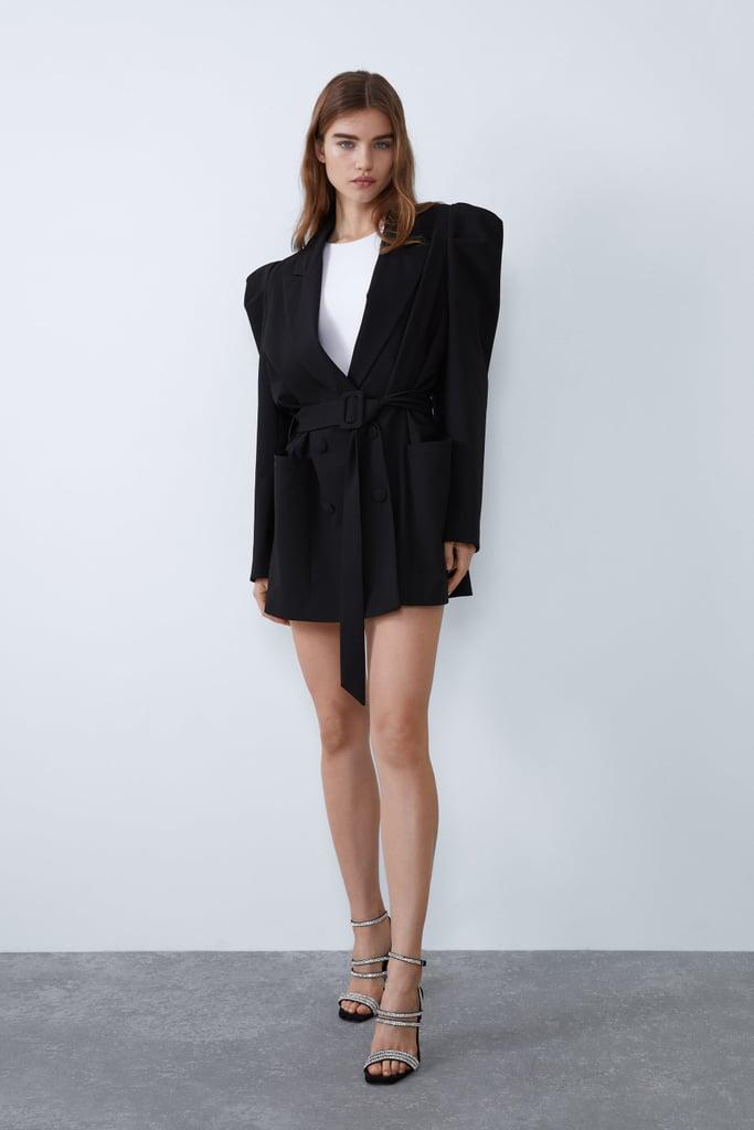 Zara Puff Sleeve Blazer