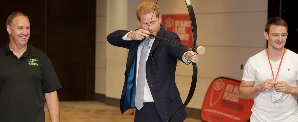 Prince Harry at RFU Injured Players Foundation July 2018