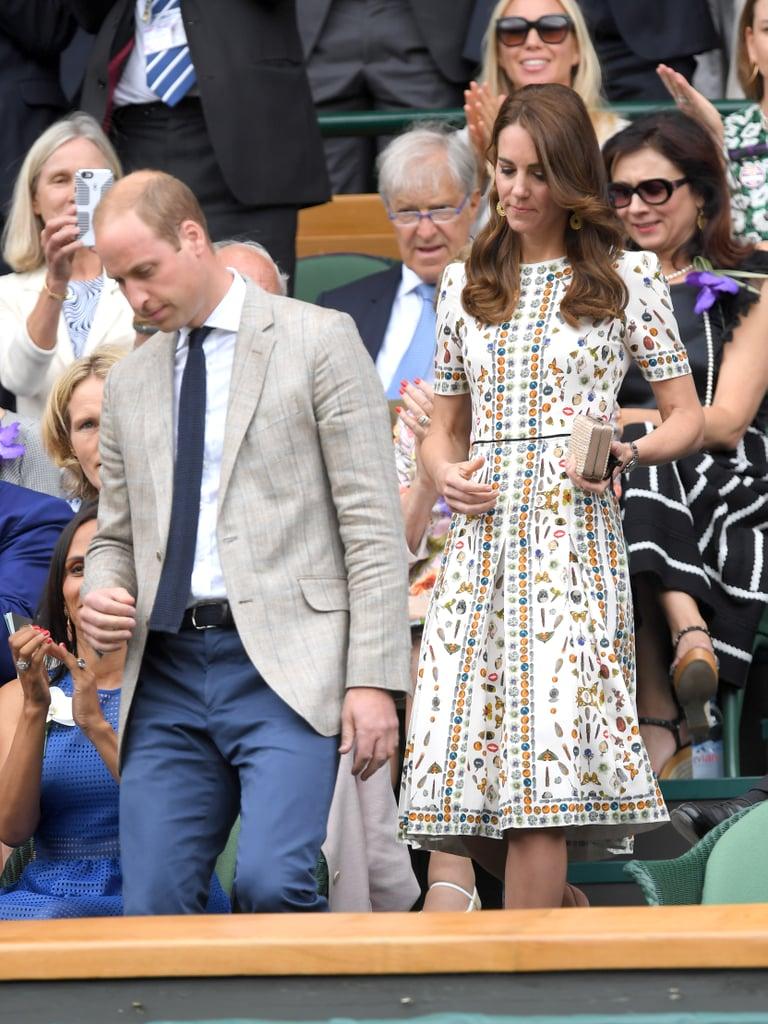 Kate Middleton's Alexander McQueen Dress Wimbledon 2016
