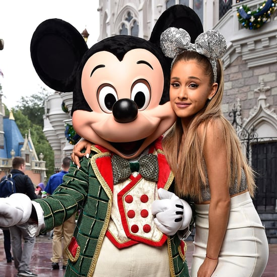 Ariana Grande Gave Up Her Cat Ears For Mickey
