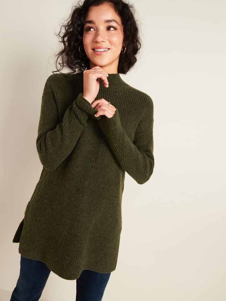 Textured Tunic Sweater