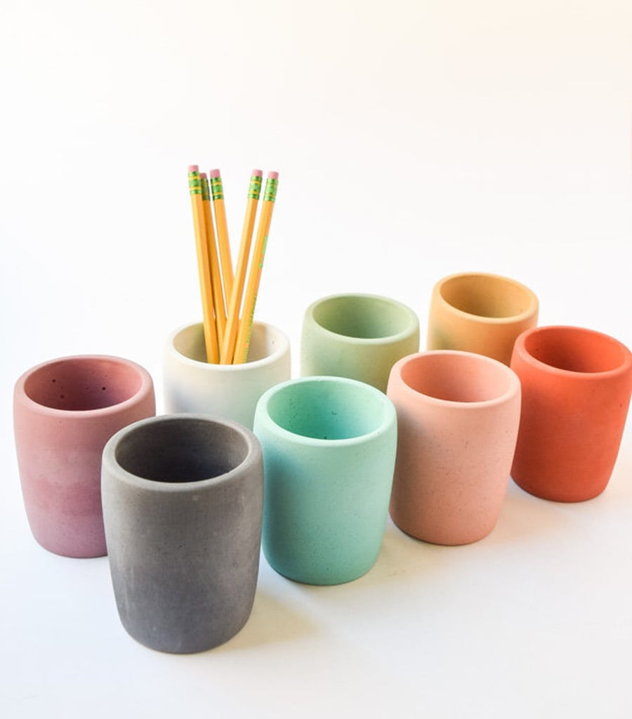 Concrete Pencil Cup