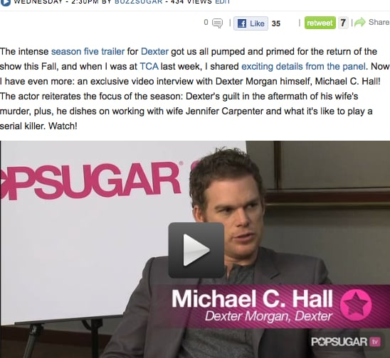 Exclusive: Michael C. Hall Talks Dexter's Explosive New Season and Working With Wife Jennifer Carpenter