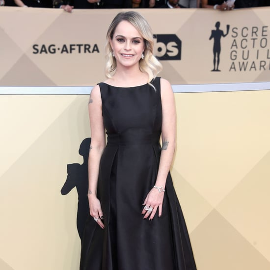 Taryn Manning Black Dress at SAG Awards 2018