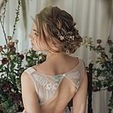 Bridal Floral Headpiece Set