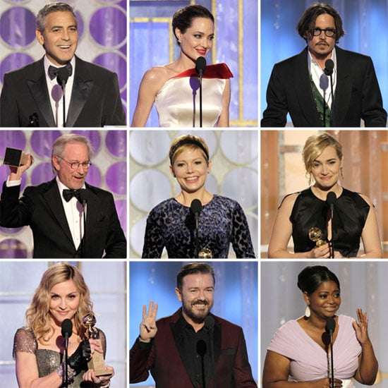 2012 Golden Globes Show Pictures and Highlights