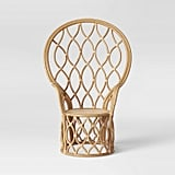 Get the Look: Peacock Rattan Chair
