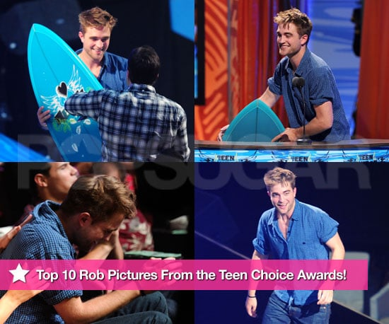 Pictures of Robert Pattinson at the 2010 Teen Choice Awards