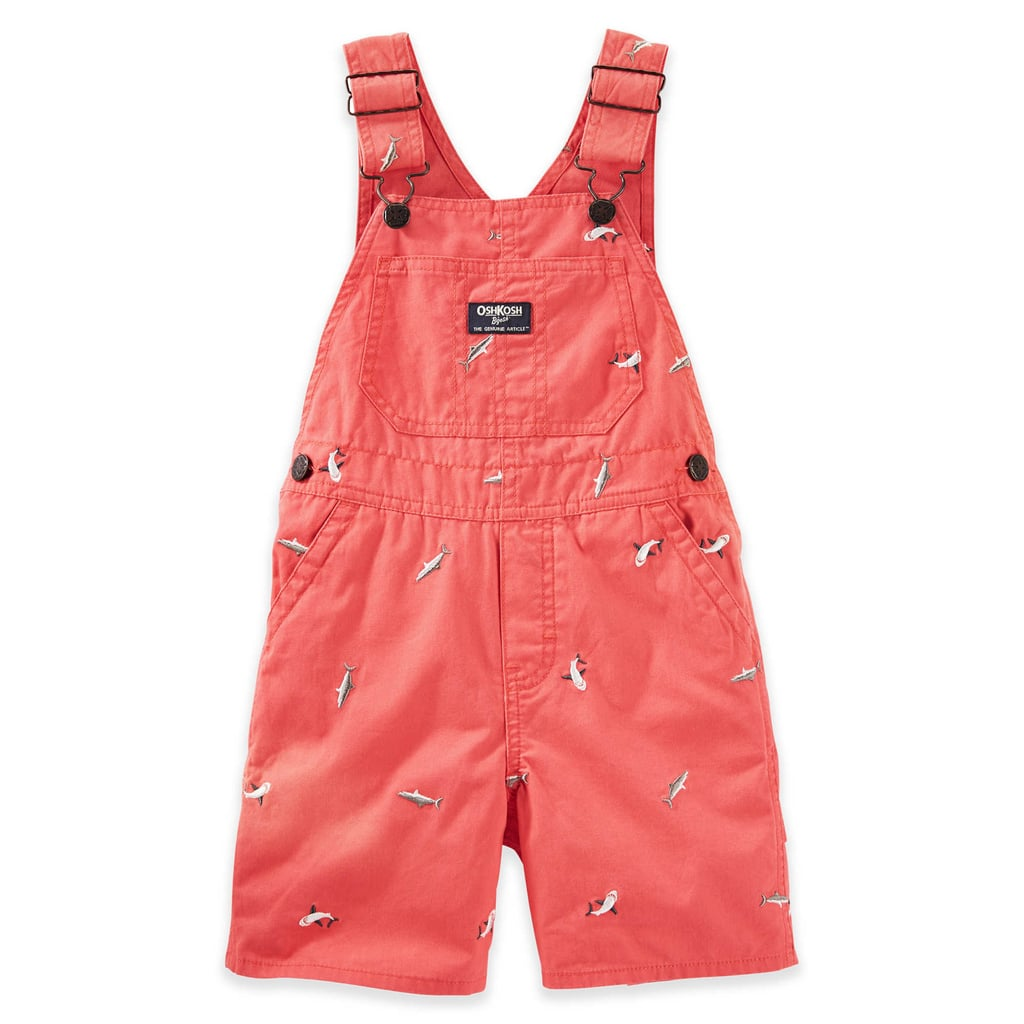 Shark Canvas Shortalls