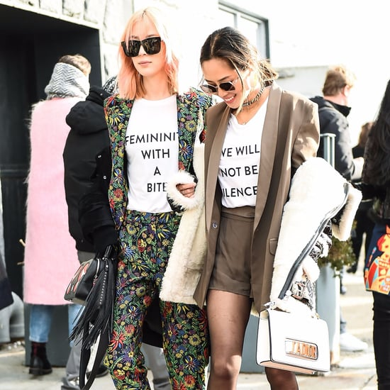 Activist Street Style at Fashion Week