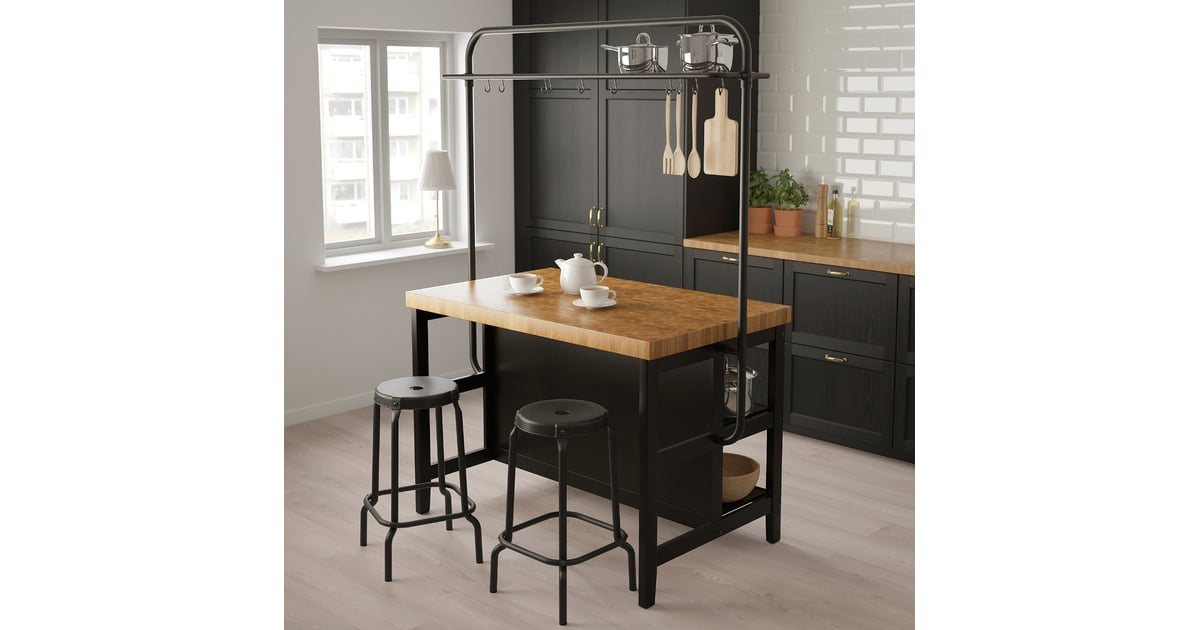 Vadholma Kitchen Island With Rack   65 Space-Saving Products ...