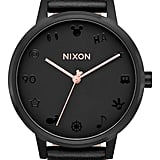 Nixon x Disney Kensington Mickey Leather Strap Watch