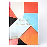 Deluxe Edition of Elizabeth Gilbert's Big Magic: Creative Living Beyond Fear, hand-painted by New York artist Lourdes Sanchez ($300)
