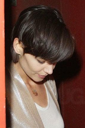 Katie Holmes' hair: the new cut!