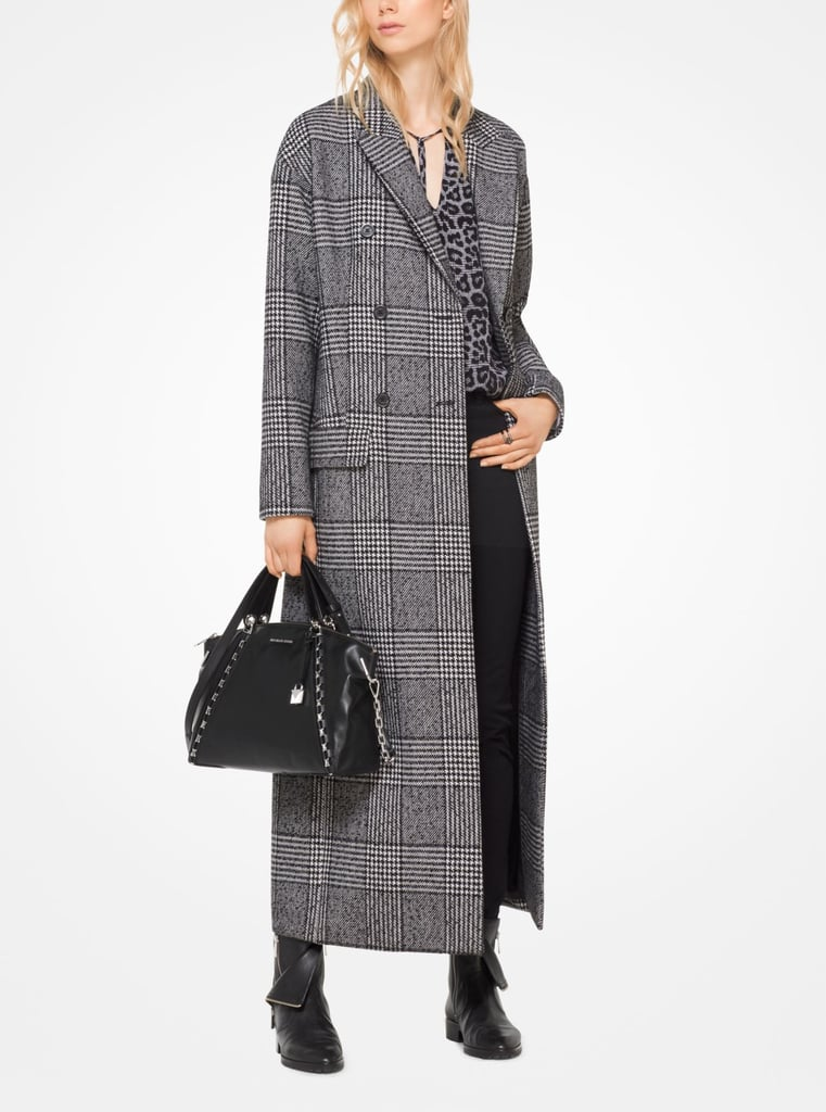 Michael Kors Glen Plaid Duster