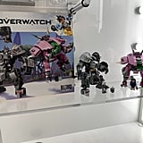 Lego Overwatch D.Va and Reinhardt