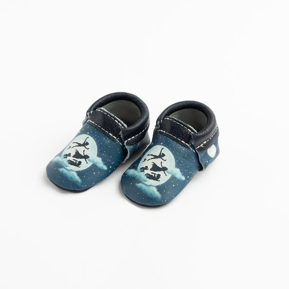 Fly Off to Neverland With These Adorable Peter Pan Moccasins For Babies and Kids