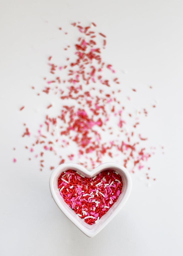 Valentine's Day Sprinkles iPhone Wallpaper