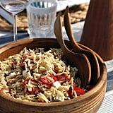 Easy Vegetarian Recipe: Mediterranean Orzo Pasta Salad