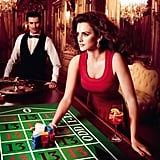 Penélope Cruz gambled on the number 13 in Campari's 2013 calendar.