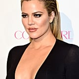 Khloe Kardashian Slicked Back hair