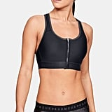 Armour® High Zip Sports Bra