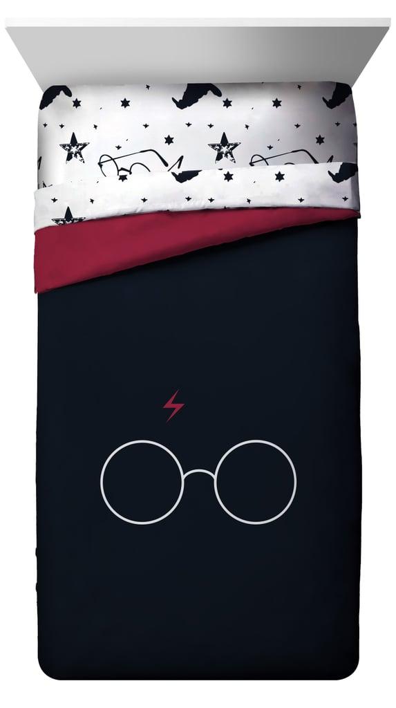 Harry Potter Glasses & Lightning Bolt Comforter