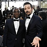 Pictured: Diego Luna and Barry Jenkins
