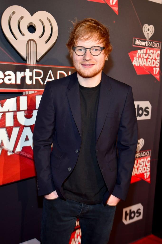 Ed Sheeran at iHeartRadio Music Awards March 2017