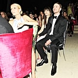 Jessica Biel and Justin Timberlake were at Gwyneth Paltrow's table. Billy Farrell/BFAnyc.com
