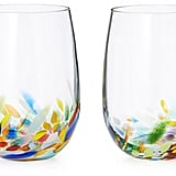 Confetti Wine Glasses