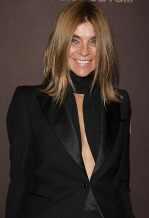 CNN Documents French Vogue Editor, Carine Roitfeld, During Paris and Milan Fashion Week