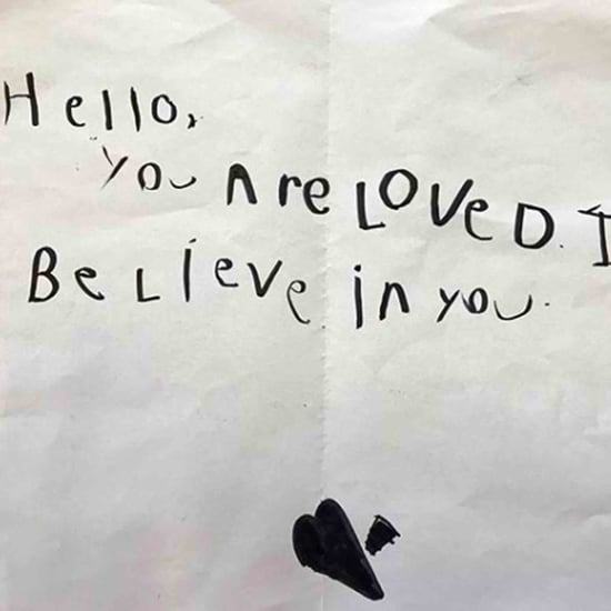 Note Jennifer Garner's Son Left in a Library Book