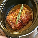 Slow-Cooker Bacon-Wrapped Pork Loin