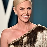 Charlize Theron at the Vanity Fair Oscars Afterparty 2020