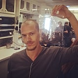He had to shave his head for a movie role and donated his hair to charity.