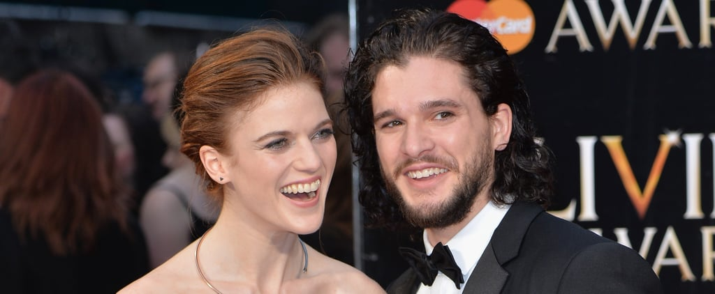 Rose Leslie Quotes About Kit Harington on Seth Meyers 2018